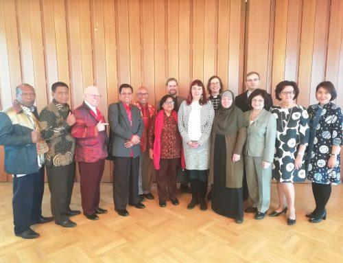 Indonesialainen delegaatio USKOT-foorumin vieraana
