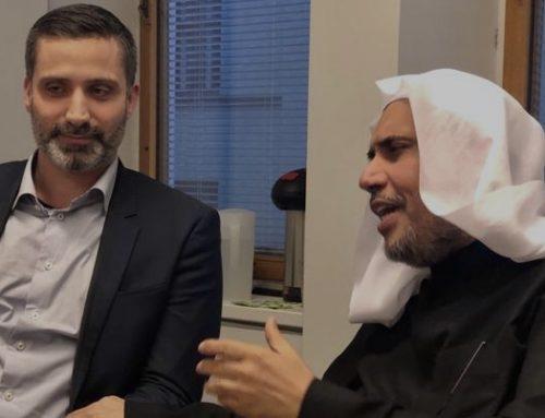 Muslim World Leaguen pääsihteeri vieraili USKOT-foorumissa