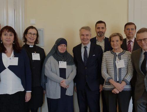 USKOT-foorumi tapasi ulkoministeri Pekka Haaviston